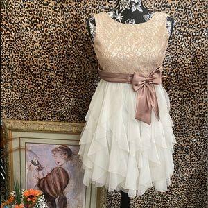 LITTLE MISS WINTER BALL DRESS